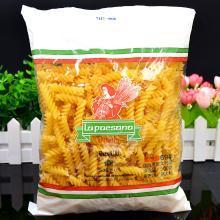 意大利面 进口 佩珊娜 螺丝面  500g 螺纹面意粉 西餐材料
