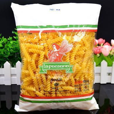 意大利面 進口 佩珊娜 螺絲面  500g 螺紋面意粉 西餐材料