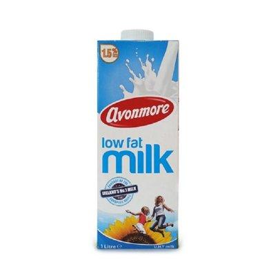 愛爾蘭進口艾恩摩爾(AVONMORE)低脂牛奶1L