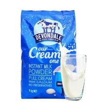 Devondale德運 澳大利亞原裝進口調制乳粉 全脂奶粉1kg*1袋
