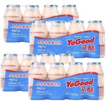 泰國原裝進口又酷原味乳酸菌飲料 85ml*4/排 4排/組家庭裝共16瓶兒童學生成人乳酸菌