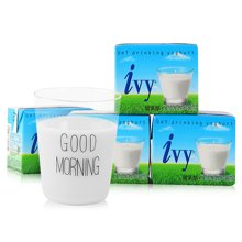 愛維雅IVY 泰國進口酸奶飲品原味180ml*4盒 泰國版益力多養樂多風味酸乳酪 牛奶成人兒童均可飲用