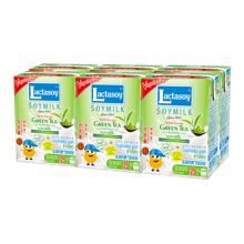 力大狮绿茶味豆奶(125ml*6)