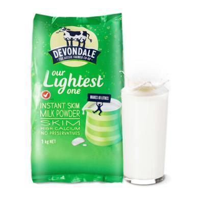 澳洲 德運(Devondale)原裝進口奶粉 脫脂成人奶粉 1kg