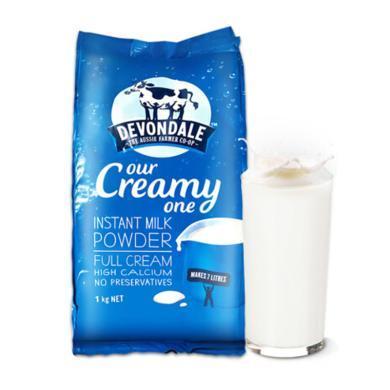 【奶粉奶粉】德運澳洲進口Devondale原裝進口奶粉 成人全脂奶粉 1kg