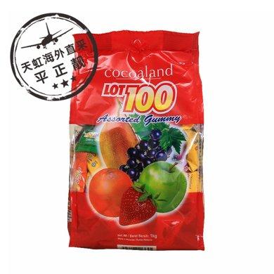 一百份什果果汁軟糖(1000g)