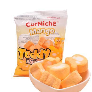 菲律賓進口 可尼斯(CorNiche)芒果泰迪棉花糖果70g 兒童零食 軟糖 牛軋糖原料