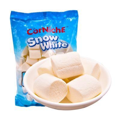 菲律賓進口 可尼斯 CorNiche白雪公主棉花糖果300g 零食品 軟糖 牛軋糖烘培燒烤原料