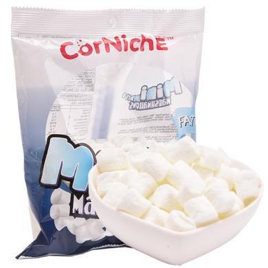 菲律賓進口 可尼斯 CorNiche迷你白棉花糖果200g 兒童零食 軟糖 牛軋糖烘培原料