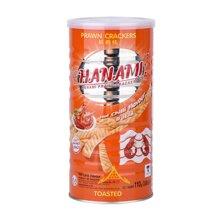 卡乐美虾条110g 原味\辣味 泰国进口膨化零食品