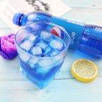 (蛋蛋猫)网红印尼pepsi blue巴厘岛百事蓝色可乐碳酸饮料梅子味450ml*3