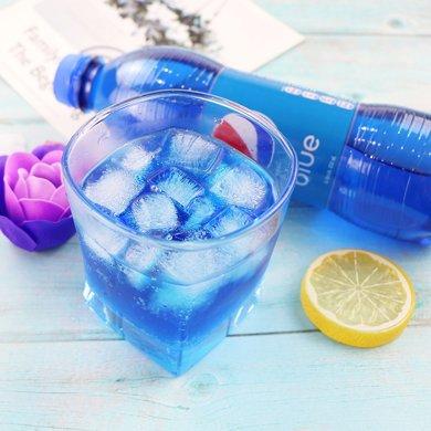 (蛋蛋貓)網紅印尼pepsi blue巴厘島百事藍色可樂碳酸飲料梅子味450ml*3