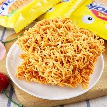 印尼进口GEMEZ Enaak点心面韩国网红零食小鸡面干脆面30g*24袋