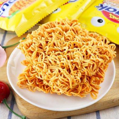 印尼進口GEMEZ Enaak點心面韓國網紅零食小雞面干脆面30g*24袋