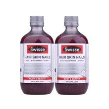 【2瓶装】澳洲Swisse瑞思胶原蛋白口服液 500ml/瓶
