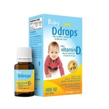 美国进口Baby Drops 婴儿维生素d3滴剂2.5ml 纯天然补钙90滴