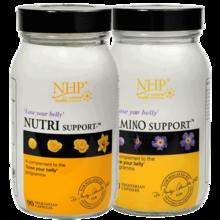 英国NHP氨基酸维生素减肥胶囊+产后燃烧脂肪左旋肉碱套装(90粒+90粒)