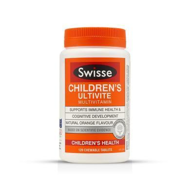 【支持購物卡】澳洲Swisse兒童復合維生素咀嚼片 120片 兒童保健