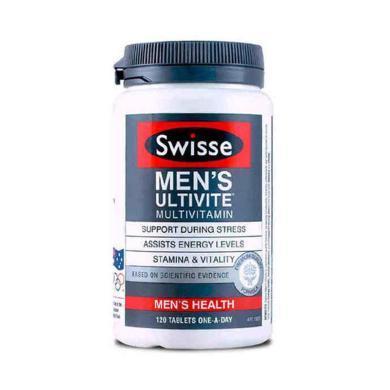 【支持购物卡】澳洲Swisse男士复合维生素 120片 男性健康