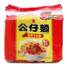 公仔面劲辣牛肉味(油炸方便面)(515g)