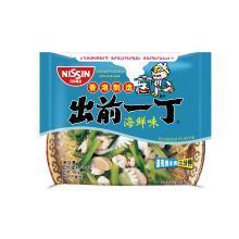出前一丁 海鲜味100g*5袋装 香港进口方便面泡面速食拌面捞面汤面其他