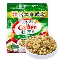 卡乐比Calbee 水果抹茶麦片450g*1袋装 日本进口谷物早餐麦片即食麦片燕麦片