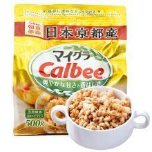 卡乐比Calbee 黄金混合麦片500g*1袋装 日本进口谷物早餐麦片即食麦片燕麦片