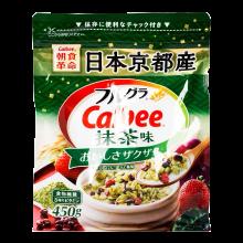 3袋日本原装进口Calbee抹茶味水果麦片450克*3袋卡乐比麦片网红零食办公室早餐方便早餐牛奶麦片 麦片3袋