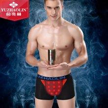 俞兆林新款金罐装男士磁性内裤 舒适透气U凸囊袋平角裤单条装 YZL410762