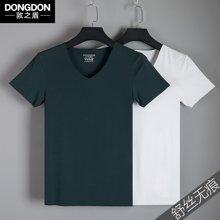 6128敦之盾【舒丝无痕】50S超细旦莫代尔男士T恤任意裁 修身型打底衫