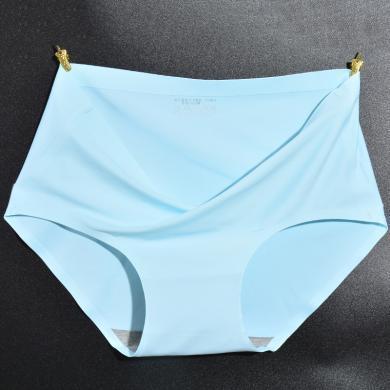 買3送1 修允菲新款一片式無痕棉檔內褲女中腰純色舒適女士內褲頭美臀三角褲R31819