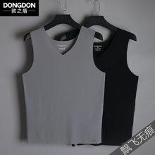 5122敦之盾【漂飞无痕】冰丝男士背心 韩版修身型打底衫 夏季运动汗衫