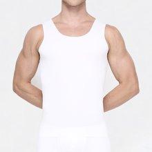5131A敦之盾【臻丝无痕】100S超细旦莫代尔男背心 夏季任意裁运动汗衫