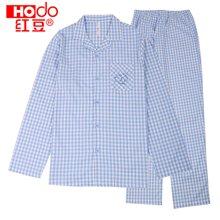 红豆亲子装儿童居家服套装春秋夏季薄款男士女士家居服套装 H8J311