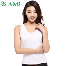 【2件装】A&B女士内衣百搭打底吊带小背心全棉细针罗纹吊带衫 (8191)