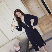 錦序夏季時尚舒適精梳純棉性感小吊帶優雅睡袍外套可外穿女士性感家居服睡裙兩件套