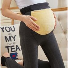 诗铭洛可冬季新款加厚保暖孕妇裤一体外穿打底裤女A8012