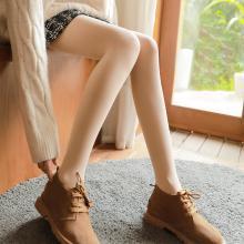 【女士保暖褲】南極人加絨加厚打底褲女外穿高腰收腹打底褲襪女士冬季踩腳保暖褲1801-1802