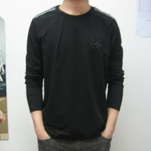 尼特名 套装 长袖T恤男装秋季新品休闲圆领棉质t恤套头外穿卫衣J9008