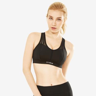 YVETTE薏凡特高强度运动文胸跑步健身背心聚拢定型大码运动内衣女