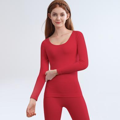 俞兆林4D蜂窝蓄热高密中厚女士美体保暖内衣女打底外穿套装 YZL720047-8702-1810