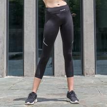 YVETTE薏凡特跑步健身裤弹力腰围提臀收腰裤速干运动长裤九分裤薄