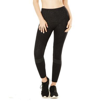 YVETTE薏凡特高強度運動褲薄款防阻力修身長褲跑步下裝女