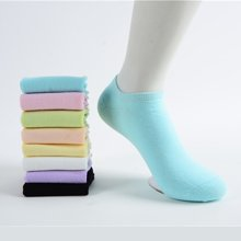 尼特名 6双装 混色装女款时尚百搭船袜四季袜星期袜W1701