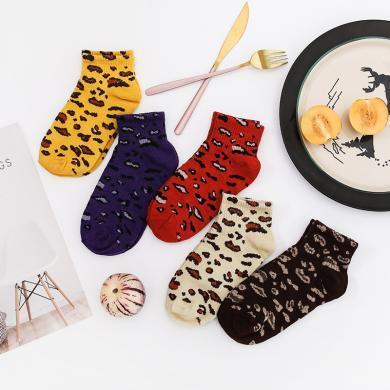 【10雙裝】修允菲2019新款襪子襪韓版學院風透氣運動日系可愛卡通短款女襪子D0009