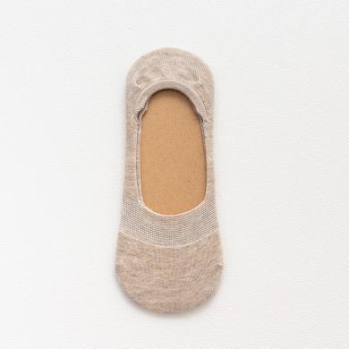 【10双装】修允菲船袜女夏季薄款隐形袜硅胶防滑纯棉袜女士浅口色纺纱短袜女RN35