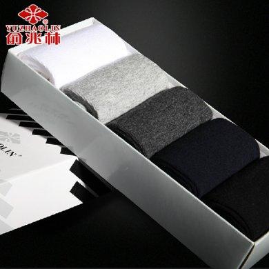【五條裝】俞兆林 5雙禮盒裝 男人襪 男棉襪夏短襪薄船襪 YZL410271