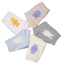 【五条装】俞兆林 卡通图案女士中筒袜 简约清新棉袜 W.M.00449-4207030100