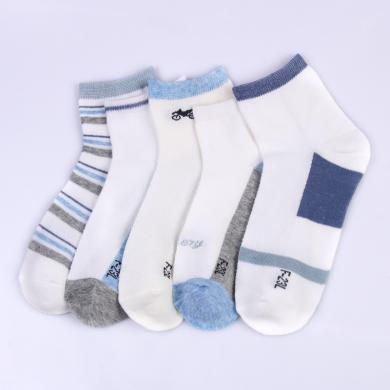 【五条组合装】红豆儿童袜子男夏季薄 童袜 儿童袜子透气网眼儿童袜子 童袜 儿童袜子 童袜 童袜 童袜 童袜