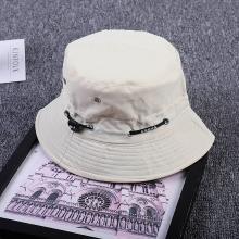 修允菲韩版个性抽带男女士钓鱼帽平顶出游休闲遮阳渔夫帽JA-474